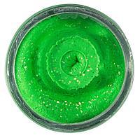 Тонущая форелевая паста Berkley PowerBait Sinking Glitter Trout Bait (1525280=Лимонно зеленый)