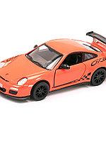 """Модель машины """"2010 PORCHE 911 GT3 RS"""" 1:36 KT5352 KINSMART"""