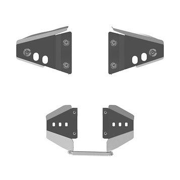 Защита рычагов, CAN-AM Renegade G1, 800, 2007-11, AL 4 мм