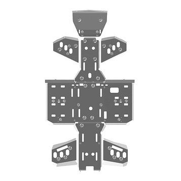 Полный комплект защиты, STELS 800D, 800, 2011-, AL 4 мм