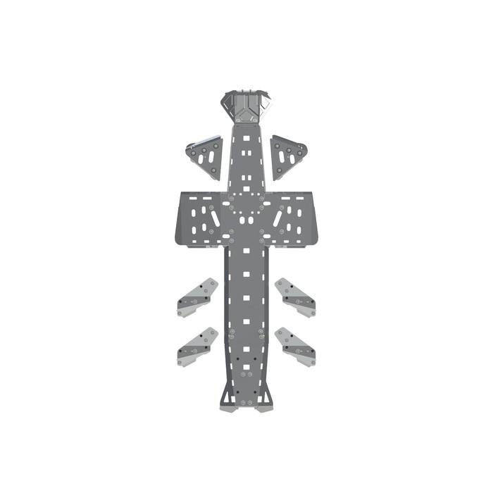 Полный комплект защиты, CAN-AM Outlander 6x6, 1000, 2015 -, AL 4 мм