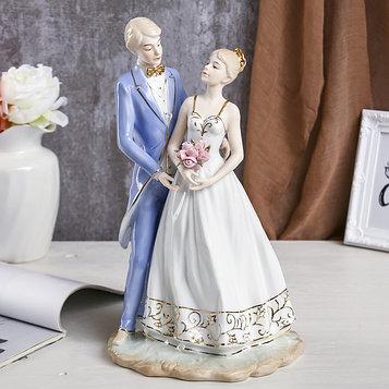 """Сувенир """"Жених и невеста"""" 36х21х16 см"""