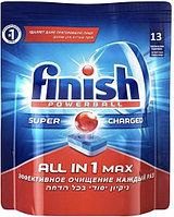 Таблетки для посудомоечных машин FINISH «Все в одном» в растворимый оболочке, 13 шт