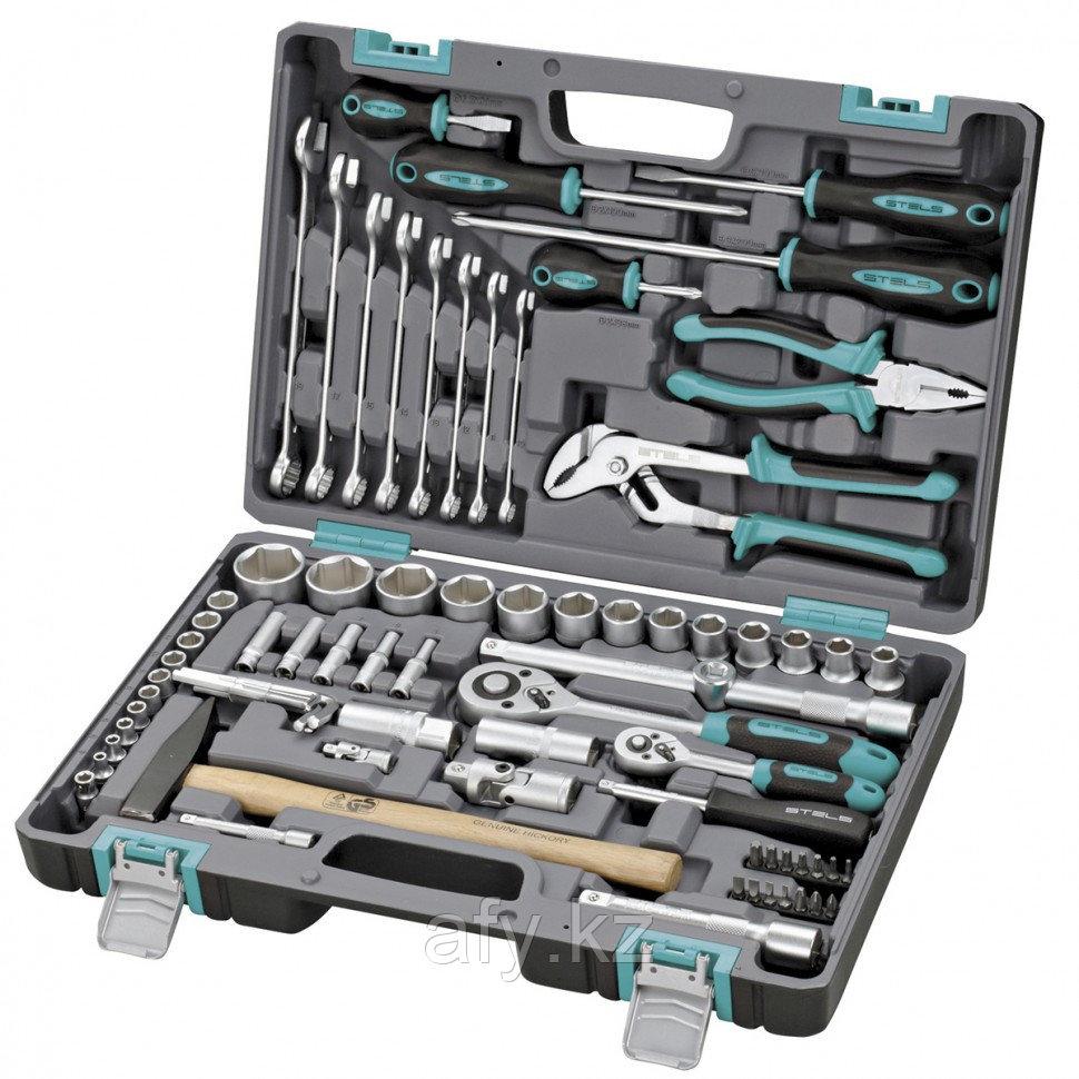 Набор инструментов 76 предметов STELS 14104
