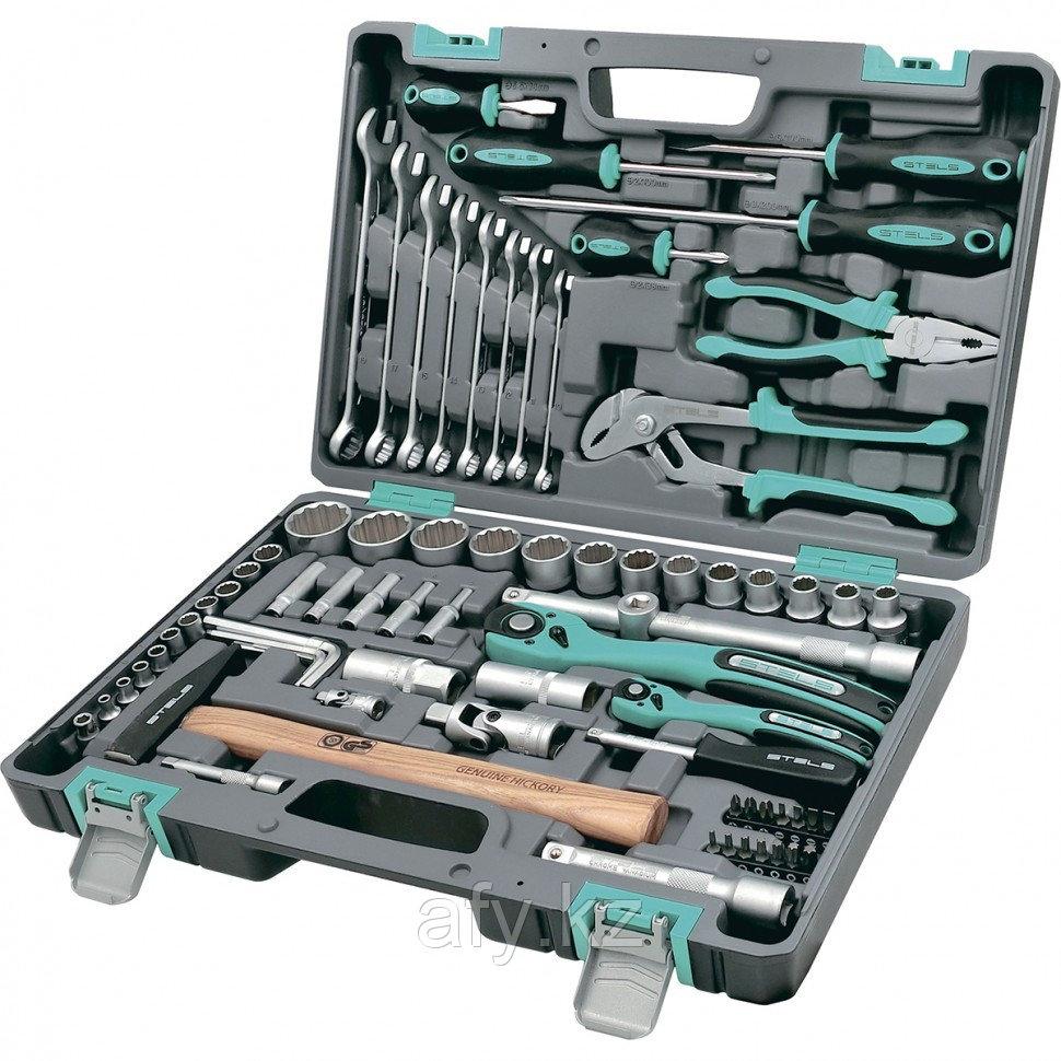 Набор инструментов 76 предметов STELS 14116