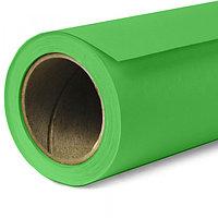 2,75*10м Фон студийный бумажный ХРОМАКЕЙ Chromakey Green Screen в рулоне Visico