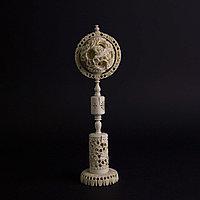 «Шар вечности» СЛОНОВАЯ КОСТЬ. Скульптурная композиция «Кантонский шар»