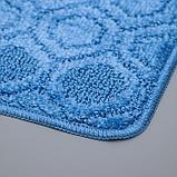 Коврик SHAHINTEX «Актив», 40×60 см, цвет синий, фото 3