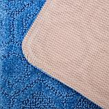Коврик SHAHINTEX «Актив», 40×60 см, цвет синий, фото 4