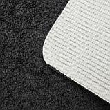 Коврик SHAHINTEX Frizz, 40×60 см, цвет графит, фото 4