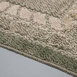 Коврик SHAHINTEX Mosaic, 45×75 см, цвет оливковый, фото 3