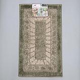Коврик SHAHINTEX Mosaic, 45×75 см, цвет оливковый, фото 5