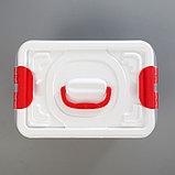 Бокс универсальный Альт-Пласт «Аптечка», 8 л, с вкладышем, фото 6