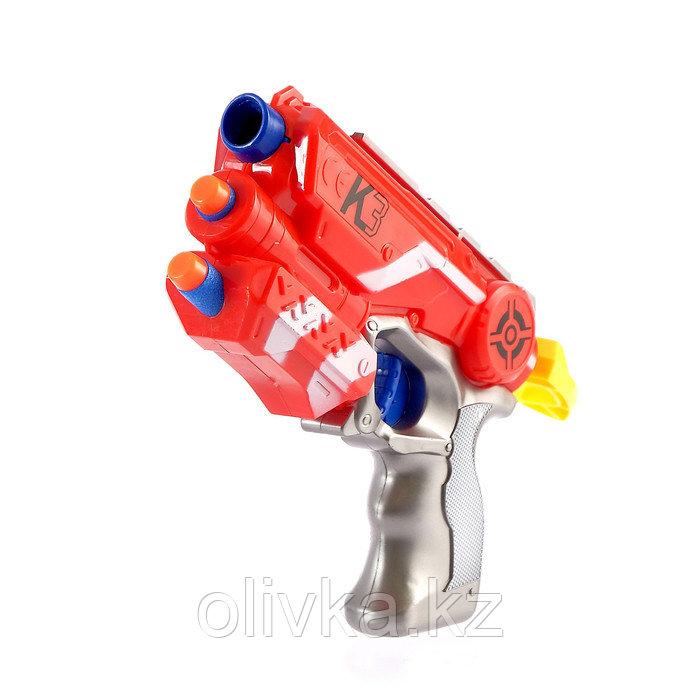 Бластер К-3, стреляет мягкими пулями в пакете, МИКС