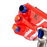 Бластер К-3, стреляет мягкими пулями в пакете, МИКС, фото 2