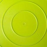 Корзина для белья мягкая IDEA, 17 л, 33×33×24,5 см, цвет ярко-зелёный, фото 2