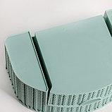 Органайзер IDEA «Вязание», с ящиком, цвет фисташковый, фото 4