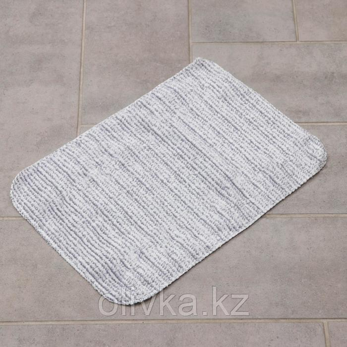 Насадка для швабры, 36×22 см, микрофибра, цвет серый