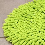 Насадка для швабры, 26×18×2 см, микрофибра букля, цвет зелёный, фото 2