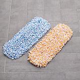 Насадка для плоской швабры Доляна, 40×10 см, микрофибра, цвет МИКС, фото 4