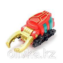 """Робот """"Жук"""", трансформируется, красный, инерция,в ПАКЕТЕ"""