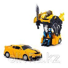 """Робот """"Автобот"""", трансформируется, инерционный, с металлическими элемю в ПАКЕТЕ"""