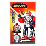 Робот «Боец», световые и звуковые эффекты, работает от батареек, фото 4