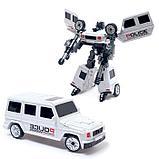 """Робот """"Полицейский гелик"""", трансформируется, цвета МИКС, фото 2"""