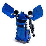 """Робот """"Полицейский гелик"""", трансформируется, цвета МИКС, фото 5"""