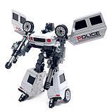 """Робот """"Полицейский гелик"""", трансформируется, цвета МИКС, фото 9"""