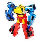 Набор роботов «Мегабот», собирается из четырёх трансформеров, фото 2