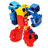 Набор роботов «Мегабот», собирается из четырёх трансформеров, фото 3