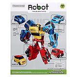Набор роботов «Мегабот», собирается из четырёх трансформеров, фото 5