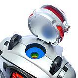 Робот радиоуправляемый «Космический боец», световые и звуковые эффекты, работает от батареек, фото 4