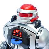 Робот радиоуправляемый «Космический боец», световые и звуковые эффекты, работает от батареек, фото 5