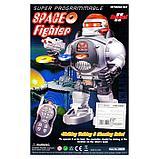 Робот радиоуправляемый «Космический боец», световые и звуковые эффекты, работает от батареек, фото 7