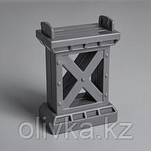 Деталь для ж/д «Опора моста» 6.8×5×2 см