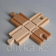 Деталь для ж/д «Перекрёсток» 10.8×10.8×1.2 см