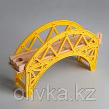 Деталь для ж/д «Туннель с мостом» 12×20.2×5 см