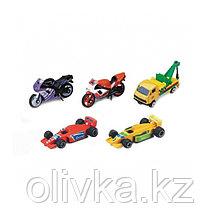 Игровой набор «Машинки», 5 моделей