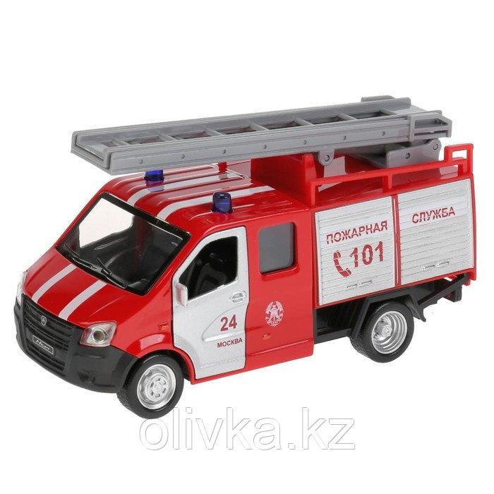 Машина металл «ГАЗель Next пожарная» 14,5 см, свет+звук, инерционная