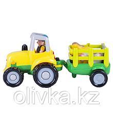 Машина «Фермерский трактор», свет/звук