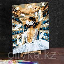 Картина по номерам с дополнительными элементами «Балет в театре», 30х40 см
