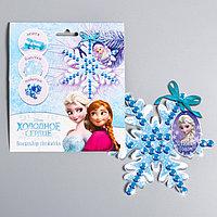 Новогодняя снежинка для декорирования, Холодное сердце