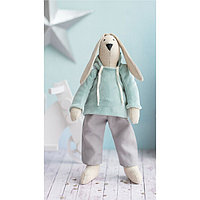 Мягкая игрушка «Домашний зайка Банни», набор для шитья, 18 × 22 × 3.6 см