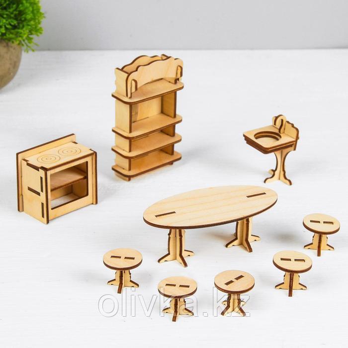 Конструктор «Кухня» набор мебели - фото 1