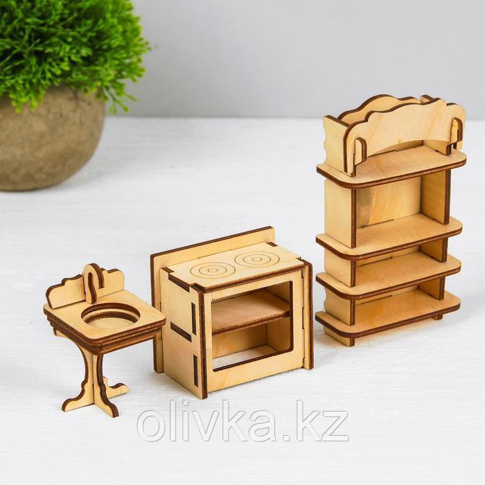 Конструктор «Кухня» набор мебели - фото 2