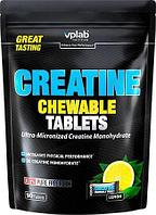 Креатин Vplab Creatine Chewable Tablets 90 таб 30 порций