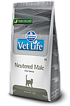 Vet Life Neutered Male, для кастрированных котов, уп.5 кг.