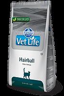 Vet Life Hairball, для выведения шерсти, уп.2 кг.